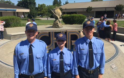 Three TUHS Students Complete CHP Explorer Academy Training