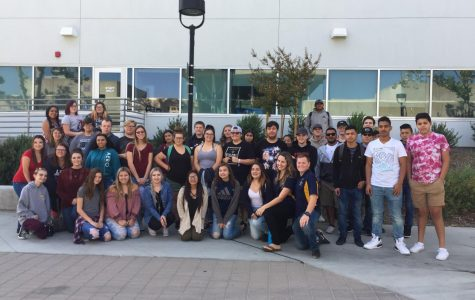 Mrs. Cloud's class at College of the Canyons