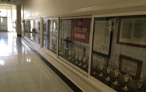 A hallway in Taft High's Main Building...