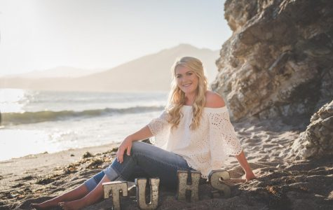 Homecoming Queen Nominee Brooklyn Yaws's senior portrait