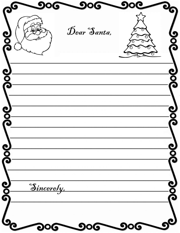 Santa Letter Form