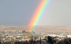 Rainbow Over Taft High