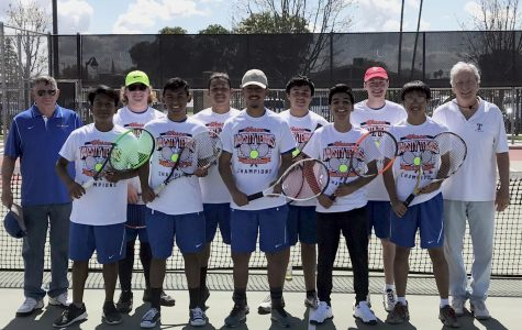 Varsity Tennis Undefeated in Wasco Tourney