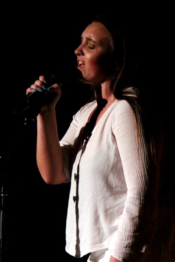 Harmony Hartzell singing