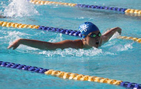 Taft Keeps Swimming