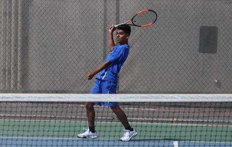 Tennis Wins in Valley Quarterfinals