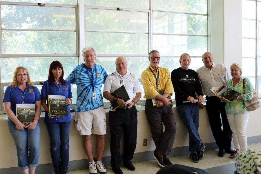 Nine Retirees Honored with Yearbook Dedication