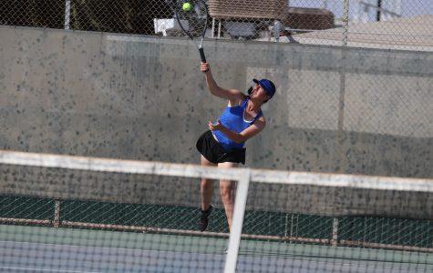 Girls' tennis team rallies after loss