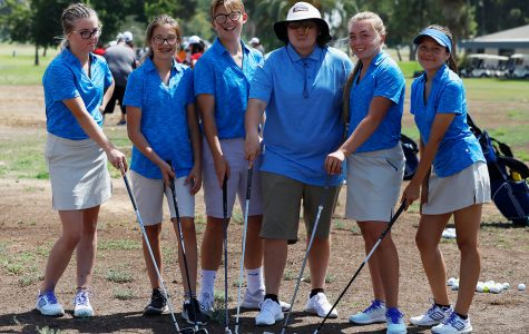Golfers take first place in first SSL match