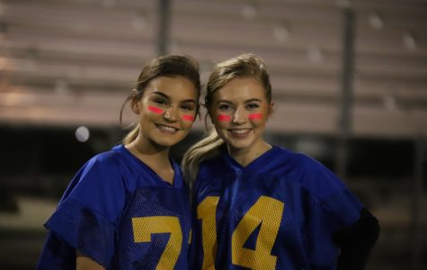 Powderpuff game ends in blue victory