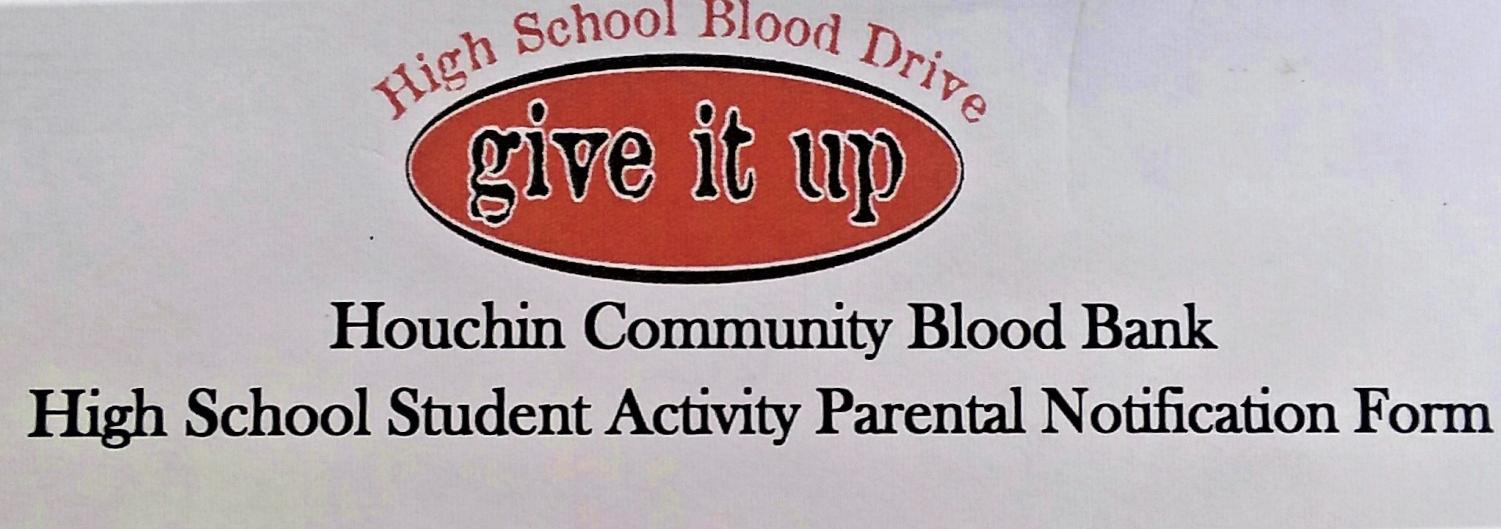 Taft High welcomes the Houchin Community Blood Bank on February 25, outside the mirror room.