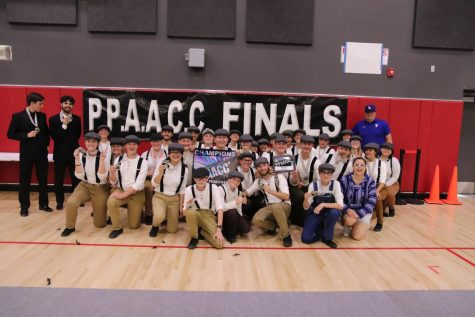 Drumline and Competition Cheer take 2nd place in PPAACC