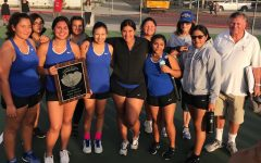 Girls' varsity tennis comes to an end