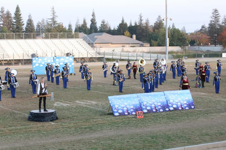 Marching band's season ends