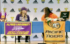 Students sign to colleges