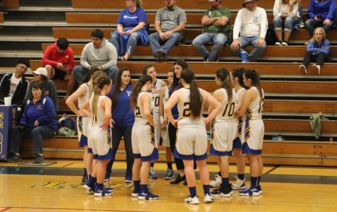 Girls basketball season ends in first round of playoffs