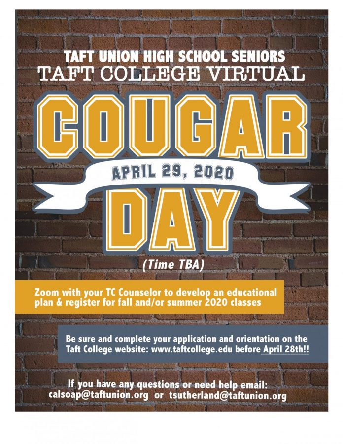 Virtual+Cougar+Day+for+Taft+High+students
