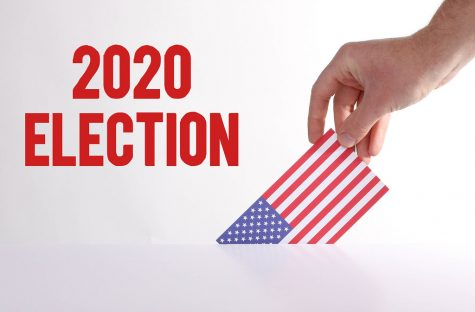 Hand holding American flag with 2020 Election text by wuestenigel is licensed under CC BY 2.0  https://search.creativecommons.org/photos/d1063299-58df-4750-8d18-c682845fb966