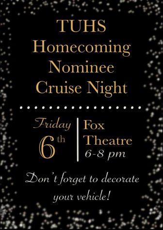 Homecoming Cruise Thru