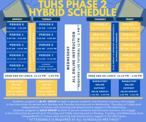 2021 Phase 2 hybrid schedule