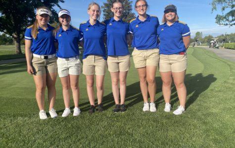 Girls golf 2021